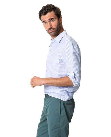 Lynwood Sports Fit Shirt, CORNFLOWER, hi-res