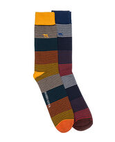 New Harrington Two Pack Sock, ASSORTED, hi-res