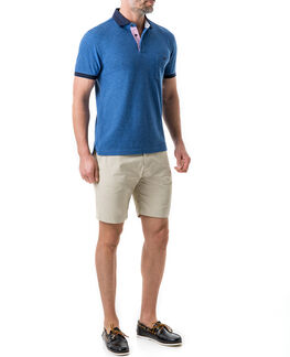 Gap Road Sports Fit Polo/Azure LG, AZURE, hi-res