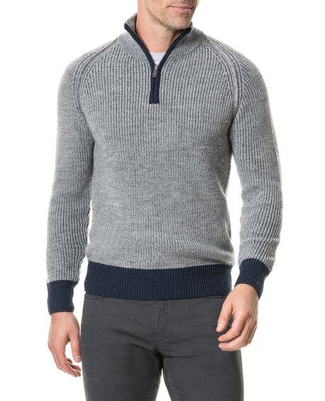 Mackinder Sweater, SMOKE, hi-res