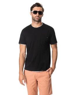 Almadale T-Shirt , EBONY, hi-res