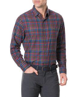 Evansdale Shirt/Nero XS, NERO, hi-res