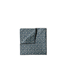 Windsor Street Pocket Square/Bluesteel 1, BLUESTEEL, hi-res