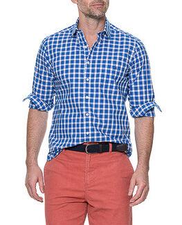 Cedarwood Sports Fit Shirt/Azure XS, AZURE, hi-res