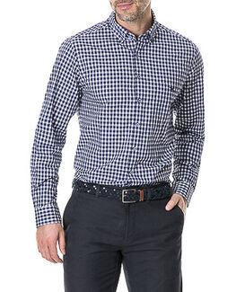 Gale Street Shirt/Indigo XS, INDIGO, hi-res