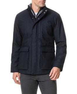 Becksley Jacket, NAVY, hi-res