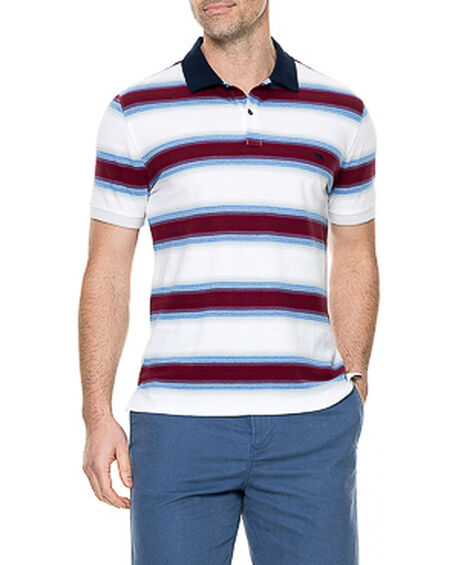 Red Beach Sports Fit Polo, , hi-res