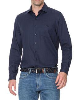 Denby Shirt/Navy XS, NAVY, hi-res