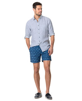 Port Charles Sports Fit Shirt/Deep Ocean XS, DEEP OCEAN, hi-res
