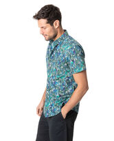 Collins Bay Sports Fit Shirt, JUNGLE, hi-res