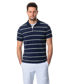 Teal River Sports Fit Polo, DENIM, hi-res