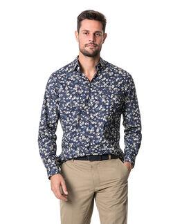 Rossmore Sports Fit Shirt/Indigo XS, INDIGO, hi-res