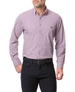 Glenariffe Shirt, BURGUNDY, hi-res