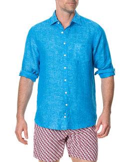 Eastern Bay Shirt/Ocean XS, OCEAN, hi-res