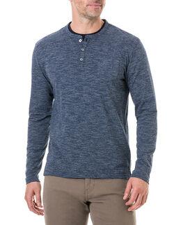 Tasman Downs Sports Fit T-Shirt , NAVY, hi-res