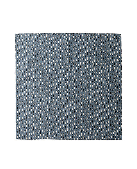 Farnham Street Pocket Square/Bluesteel 1, BLUESTEEL, hi-res