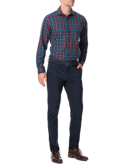 Stanaway Shirt, BORDEAUX, hi-res