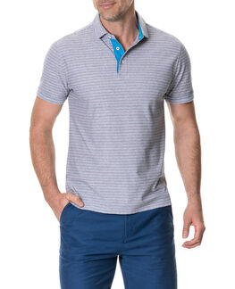 Gainford Sports Fit Polo, SMOKE, hi-res