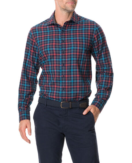 Stanaway Sports Fit Shirt, BORDEAUX, hi-res