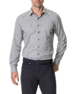 Hillersden Sports Fit Shirt, PEBBLE, hi-res