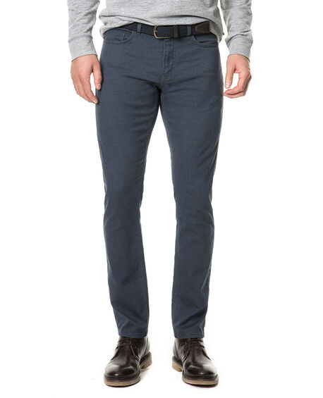 Adams Flat Straight Pant, PETROL, hi-res