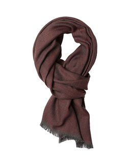 Laing Lane Scarf, BERRY, hi-res