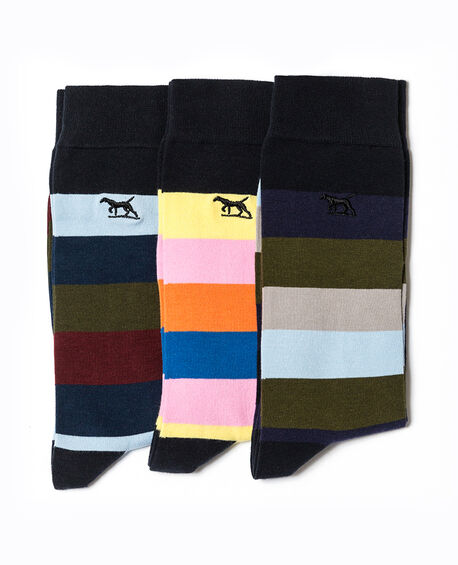 Riverhead Three Pack Sock/Multi 0, MULTI, hi-res