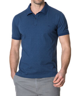 Aspendale Sports Fit Polo, OCEAN, hi-res