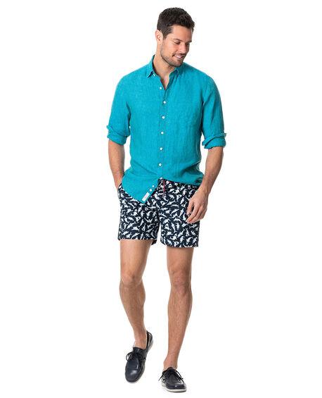 Coromandel Sports Fit Shirt, TEAL, hi-res