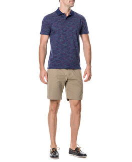 Carnarvon Sports Fit Polo, NAVY, hi-res