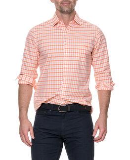 Shorecliffe Sports Fit Shirt, MANDARIN, hi-res