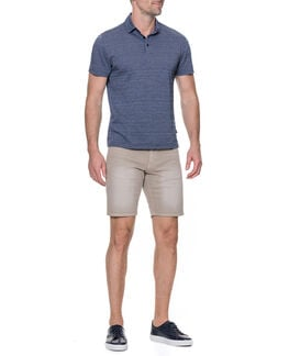 Mitford Sports Fit Polo/Navy XS, NAVY, hi-res