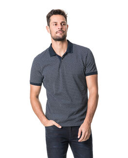 Brookdale Sports Fit Polo, INK, hi-res