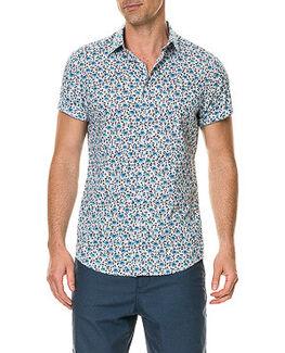 Glenbrook Beach Sports Fit Shirt/Snow XS, SNOW, hi-res