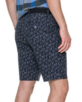 Dusky Forest Slim Fit Short, INDIGO, hi-res