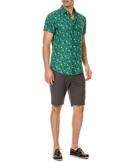 Canoe Creek Sports Fit Shirt/Bamboo XS, BAMBOO, hi-res