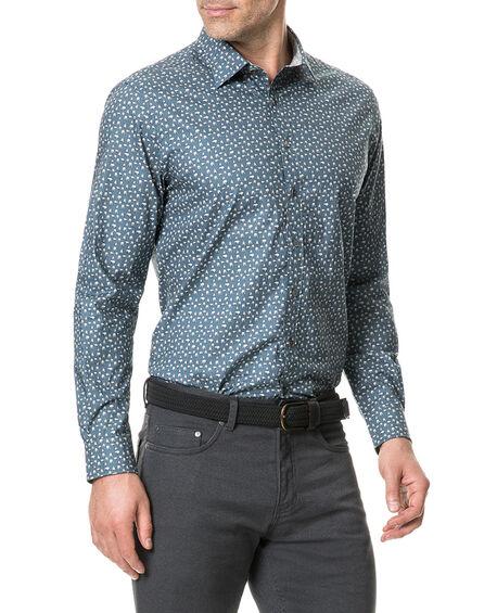 Montcalm Sports Fit Shirt, BLUESTONE, hi-res