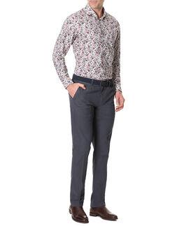Allenton Sports Fit Shirt/Ivory XS, IVORY, hi-res