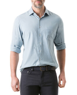 Scarborough Sports Fit Shirt/Chambray XS, CHAMBRAY, hi-res