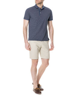 Roving Beach Sports Fit Polo/Peacoat XS, PEACOAT, hi-res