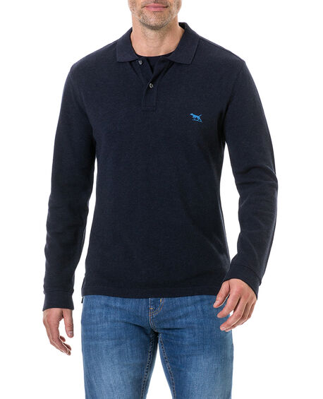 Long Sleeve Gunn Polo, , hi-res
