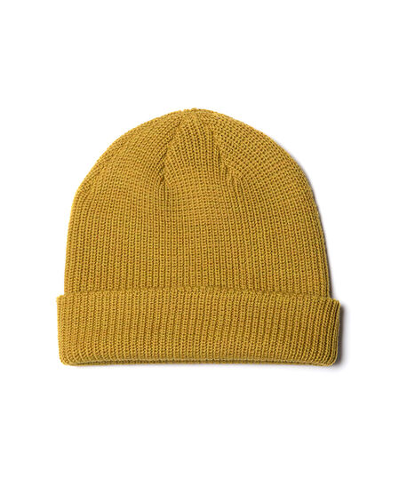 Big Hill Rd Beanie, MUSTARD, hi-res