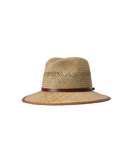 Long Beach Road Straw Hat/Sand ME, SAND, hi-res