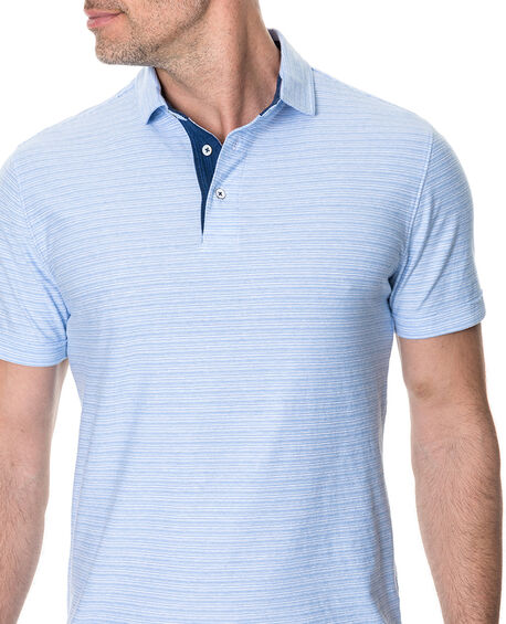 Gainford Sports Fit Polo, SKY, hi-res