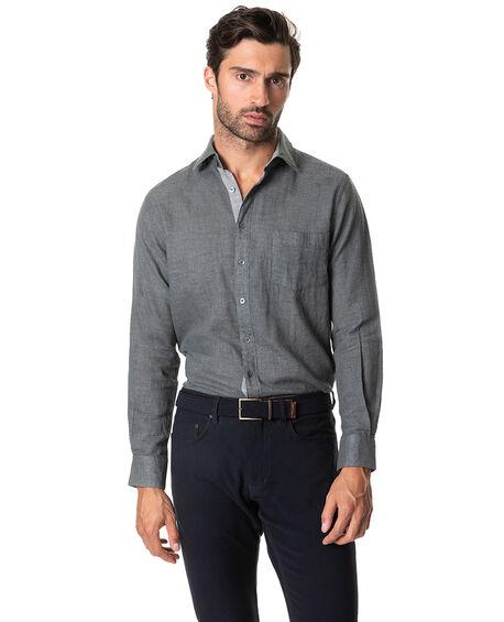 Couston Park Sports Fit Shirt, ASH, hi-res