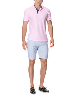 Gainford Sports Fit Polo/Rose ME, ROSE, hi-res