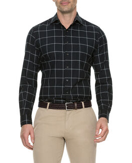 Darlington Sports Fit Shirt/Nero XS, NERO, hi-res