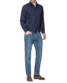 Nicholls Regular Fit Jean /Rl Denim 30, DENIM, hi-res