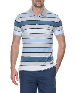 Bay View Sports Fit Polo/Azure XS, AZURE, hi-res