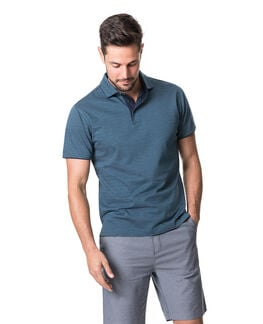 Alton Valley Sports Fit Polo, TEAL, hi-res